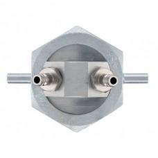 Однотрубный фиттинг для соединения с газовым счетчиком Testo